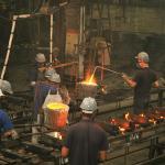 Empresa de fundição de ferro fundido